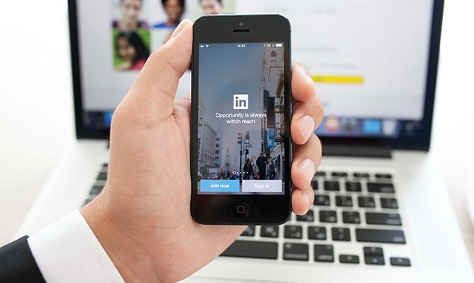 Linkedin-social-media-profile